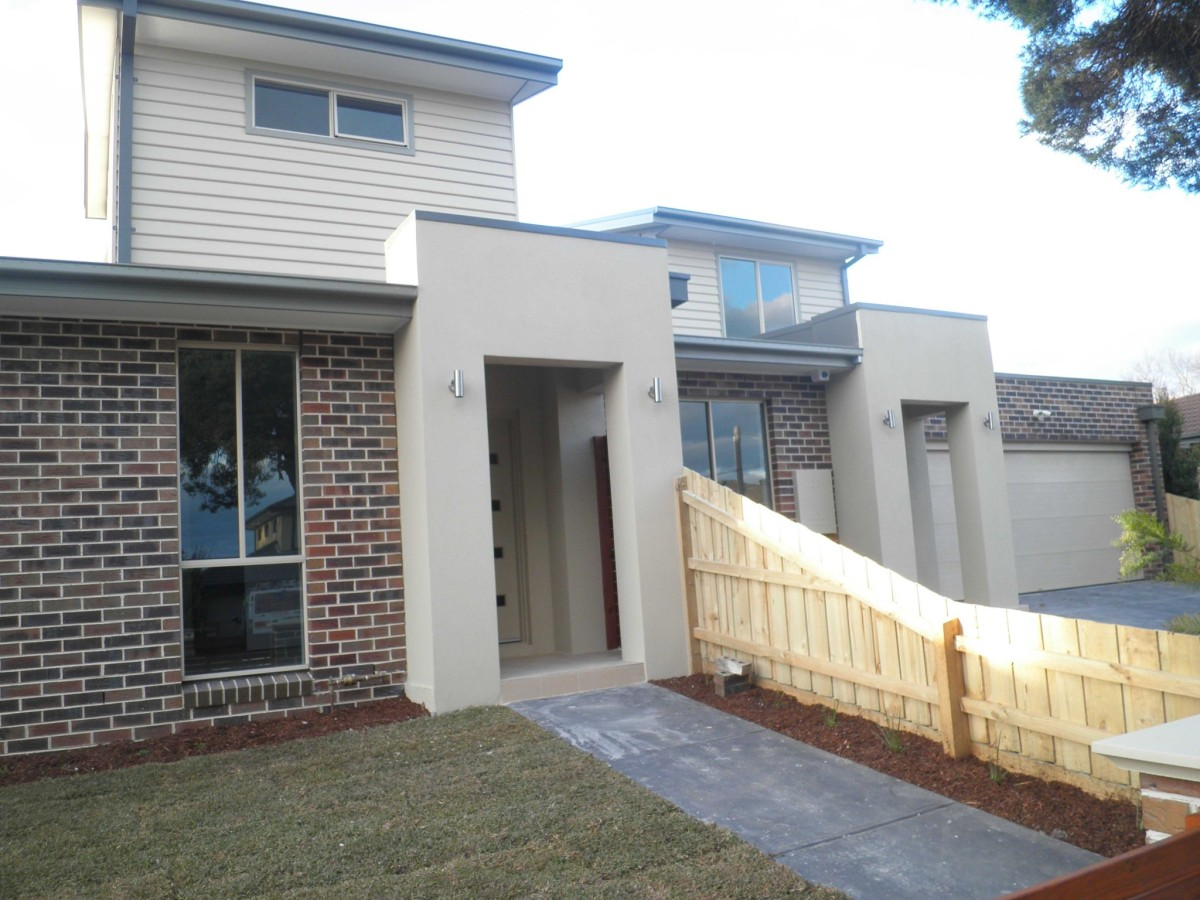 Gardencity australia morloc street townhouse for Townhouse construction cost
